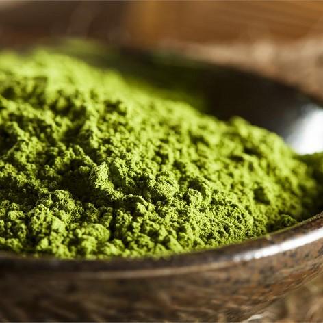 Зелёный чай маття