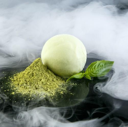 Мороженое «Зелёный чай»